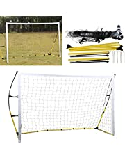 Fotbollsnät, fotbollsmål, antidroppande fotbollsuppsättning för fotbollsmål, för fotbollsfotboll