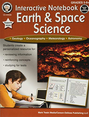Compare Textbook Prices for Mark Twain - Interactive Notebook: Earth & Space Science, Grades 5 - 8 Ntb Edition ISBN 0044222259716 by Cameron, Schyrlet,Craig, Carolyn