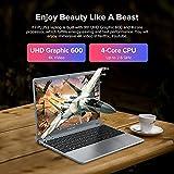 TECLAST F7Plus 2 Portátil PC 14 Pulgadas 8G RAM 256GB SSD, Ordenador Portátil Intel Celeron N4120, 2.6 GHz ,Gráficos 600, Laptop Windows10 Gris, 5G WiFi, Batería 38000mWh,USB 3.0,Ampliable 512GB SSD