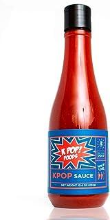 KPOP Gochujang Sauce by KPOP Foods. Savory Authentic Gochujang Sauce, 10.4oz Squeeze Bottle. Made with 100% Real Gochujang Korean Chili Paste. Medium Heat. (Pack of 2)