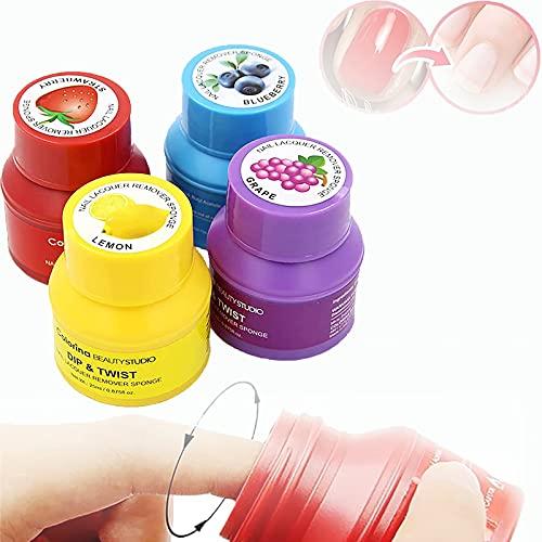 Magic Nail Polish Remover,Nail Varnish Remover,Esponja Para Quitar el Esmalte De Uñas