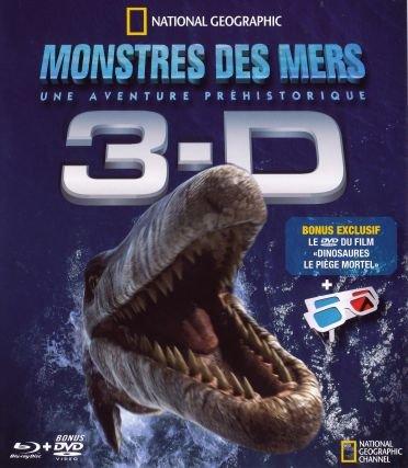 Sea monsters 3D : a prehistoric adventure [Blu-ray]