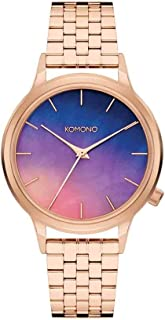 Komono Women's W2780 Watch Yellow