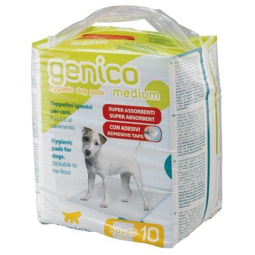 Ferplast 85330811 Hygienematte GENICO MEDIUM, für Hunde, Maße: 60 x 60 cm