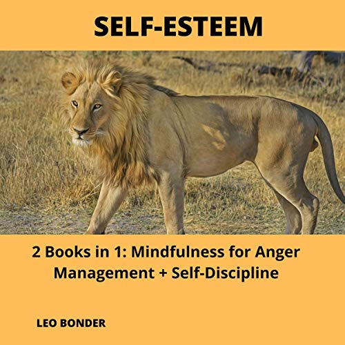 Self-Esteem: 2 Books in 1: Mindfulness for Anger Management + Self-Discipline cover art