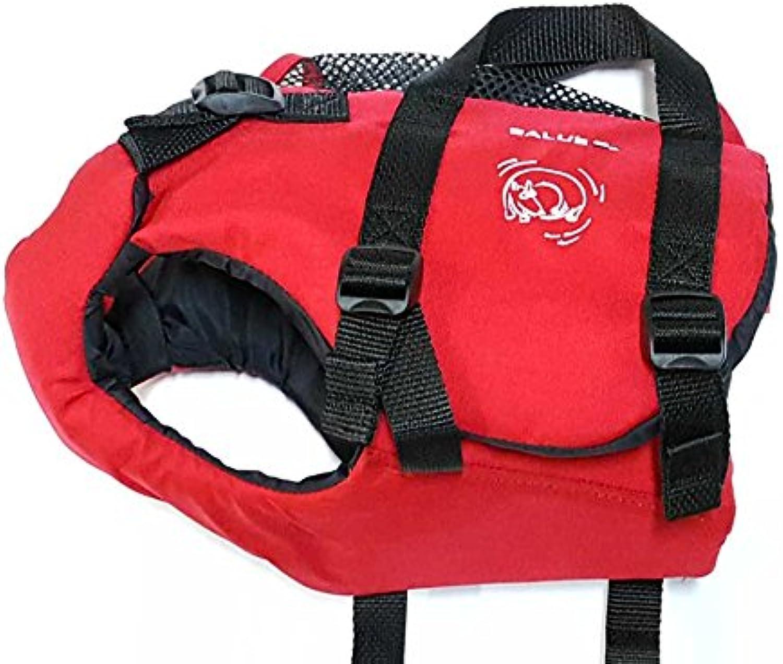 Salus Skippy Dog Pet PFD Vest Xsmall Red X Small