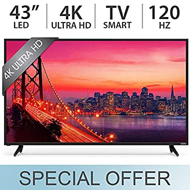 VIZIO E43-D2 SmartCast 43  Class E-Series Full HD Smart, LED TV 1080p 120Hz