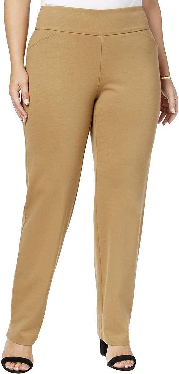Charter Club Plus Size Cambridge Pull-On Ponte Pants