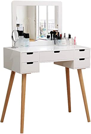 CJX-Dressing Tables Coiffeuse, Tabouret Coiffeuse Ménage Coiffeuse