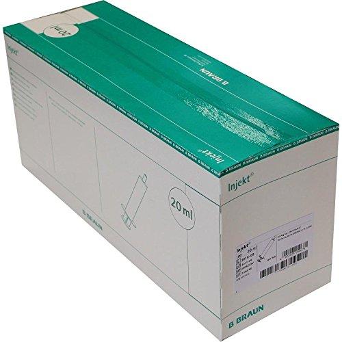 INJEKT Solo Spritze 20 ml Luer exzentrisch PVC-fr. 100X20 ml