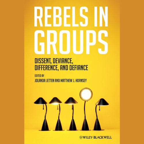 Rebels in Groups audiobook cover art