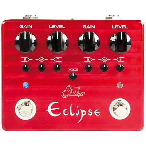 Suhr Eclipse Dual Channel Overdrive/Distortion Effectpedaal voor gitaar