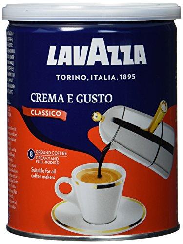 Lavazza Gemahlener Kaffee - Crema E Gusto - 1er Pack - (1 x 250 g Dose)