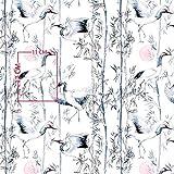 Pingianer 8,98€/m Vogel Blume Wolke 100% Baumwolle