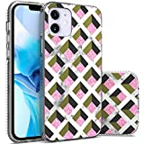 CoverON Marble Designed for Apple iPhone 12 Case (5.4'), Slim Scratch Proof Hard Back TPU Grip Phone Cover - Pink Box