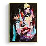 JXFFF Bricolaje (20x25 cm Sin Marco Style Estilo de Moda Abstracto Pintar por Kits de números Amanecer para niños y Adultos Principiante Set de Regalo, con Pincel y Pintura acrílica