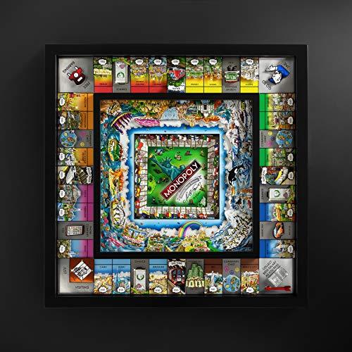 Monopoly World Edition de Charles Fazzino