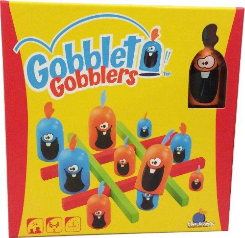 Bleu Orange Gobblet Gobblers