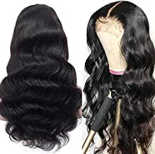 Megalook Human Hair Lace Front Wigs Human Hair Wigs 20inch Lace Closure Wigs For Black Women 4x4 Lace Front Wigs Pre Plucked Hairline with Baby Hair