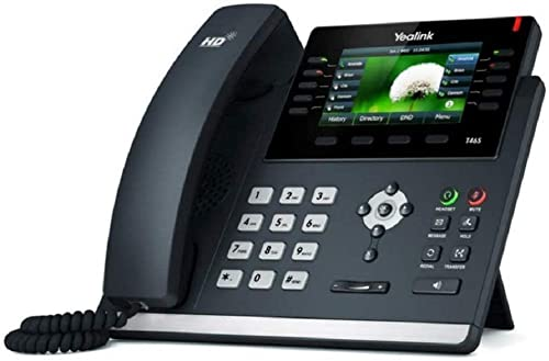 wholesale Yealink SIP-T46S IP Phone, 16 Lines. 4.3-Inch Color Display. Dual-Port Gigabit Ethernet, 802.3af high quality PoE, Power Adapter discount Not Included sale
