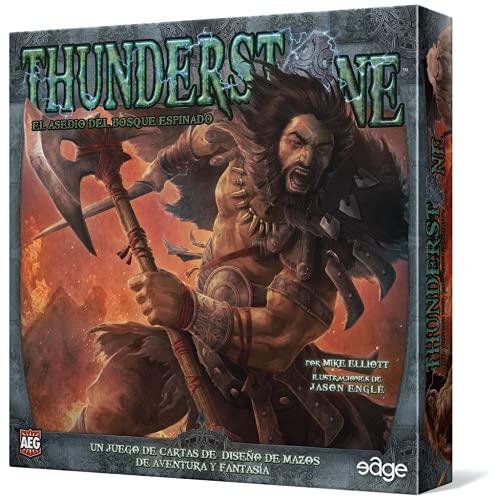 Edge Entertainment- Thunderstone: el asedio del Bosque espinado - español, Color (EDGTS05)
