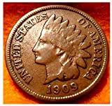 1909 1900-1909 HISTORIC COPPER U.S. INDIAN...
