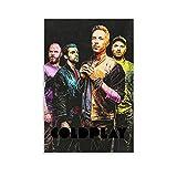 Yuhui Coldplay Poster, dekoratives Gemälde, Leinwand,