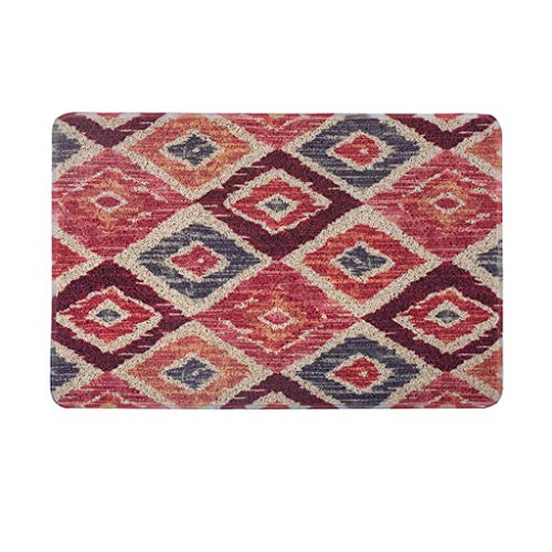 Sale!! CarPet Floor mat for Door-to-Door Environmental Protection mats Washable (Color : B)