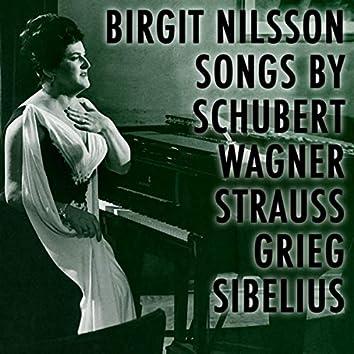 Songs by Schubert Wagner Strauss Grieg Sibelius