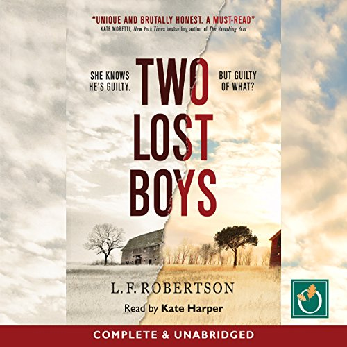 Two Lost Boys audiobook cover art