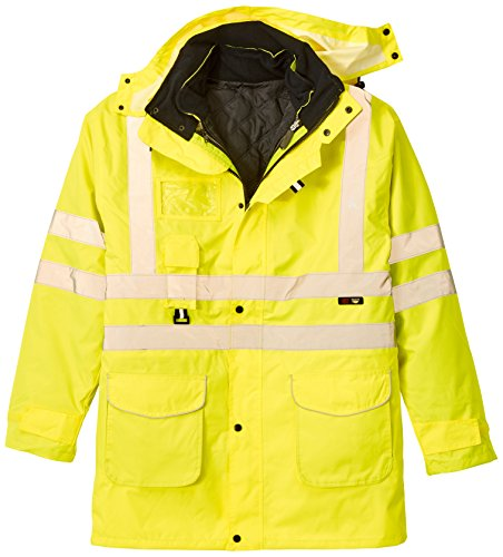 Supertouch Hi Vis Standard Storm Bomber Jacket Yellow Size X-Large