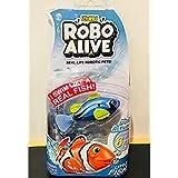 Robo Alive Real Life Robotic Pets Robo Alive Blue Tang Fish