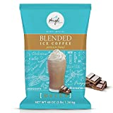 Angel Specialty Products, Blended Ice Coffee, Instant Frappe Powder Drink Mix, 3-Pound Bag, Mocha [34 Servings]