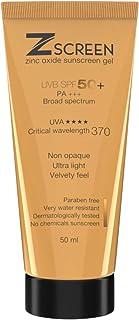 Zscreen Zinc Oxide Sunscreen Gel