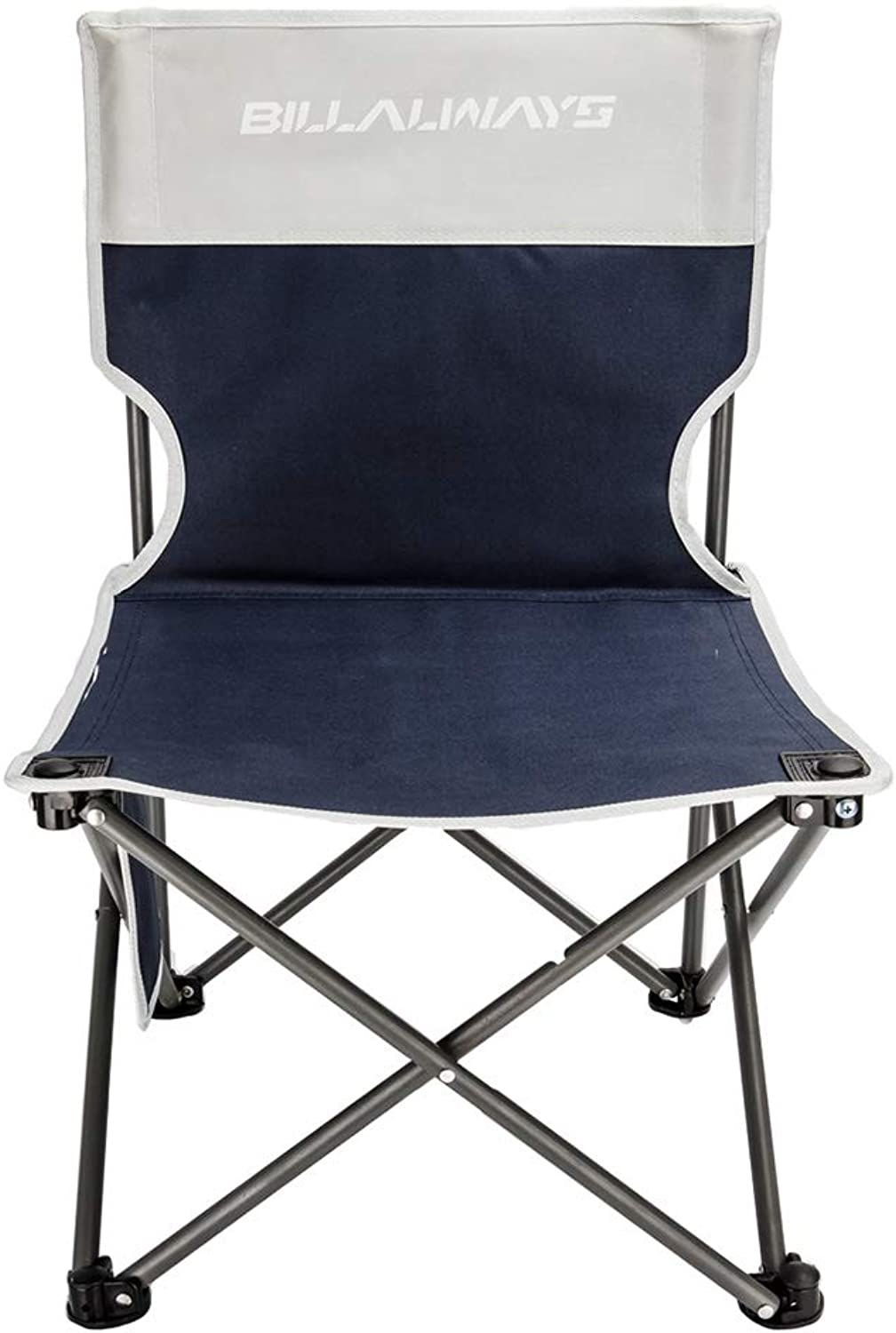 Folding Portable Fishing Chair Collapsible Camp Stool for Camp Traveling Hiking Beach Garden BBQ Lightwight Waterproof