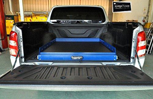 Universele Bed Sliding uittrekbare laadvlak/pickup ladersysteem + ELEMENT TRADE sticker
