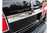 QAA fits 2007-2014 Lincoln Navigator 1 Piece Stainless License Bar, Above Plate Accent Trim, with Logo Cut Out LB47655