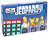 Pressman Jeopardy Game Simpsons Edition