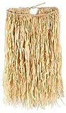 Beistle 50450 Adult Raffia Hula Skirt, Tan