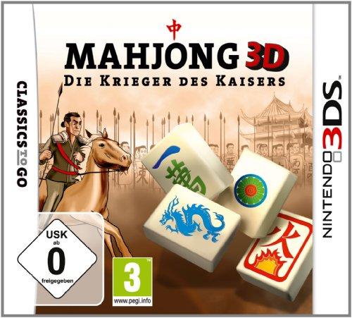 Mahjong 3D: Die Krieger des Kaisers - [Nintendo 3DS]
