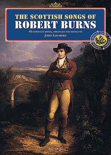 Scottish Songs Of Robert Burns: Liederbuch für Gesang, Gitarre (Personality Songbooks)