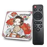GEQWE Android 10.0 TV Box, T02 2021 X96Q 4GB RAM 64GB ROM Smart TV Box Allwinner H616 Soporte De Cuatro Núcleos 4K 3D Set Top Box Mini WiFi Home Media Player,4gb+64gb