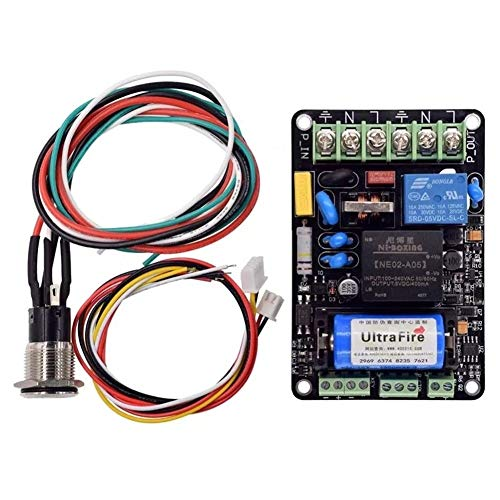 MDYHJDHYQ 3d Printer Accessories 5V UPS Smart Power Monitoring Module Continued to Play Printing Automatically Put off Management Module For 3D Printer Part 3D Printer Accessories