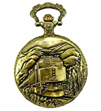 Railroad Approved Railway Regulation Standard Train Pocket Watch 150th Spike Anniversary 4 Passenger Unit F40PH