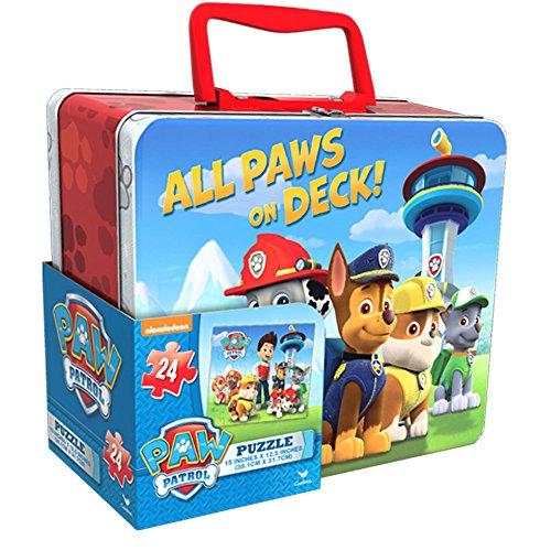 Paw Patrol Lunch Box with Bonus Puzzle