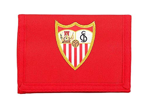 F.C; sevilla 811856036 2018 Tarjetero, 12 cm, Rojo