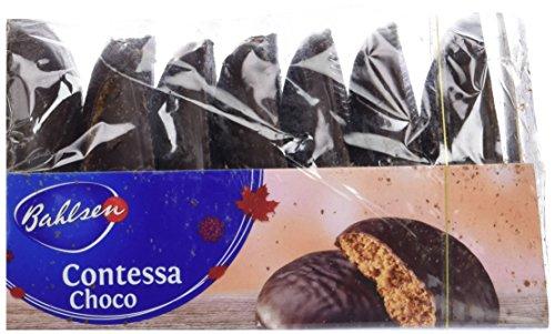 Bahlsen Contessa Lebkuchen, Dark Chocolate Covered (Pack of 2)