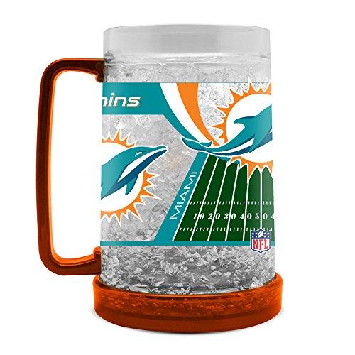 NFL Miami Dolphins Becher für Gefrierschrank, 454 ml