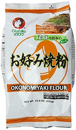Pack of 2 - Otafuku Osaka Style Okonomiyaki Flour, 15.9 Ounce