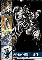 Artenvielfalt Tiere (Wandkalender 2022 DIN A3 hoch): Portraits wilder Tiere (Planer, 14 Seiten )